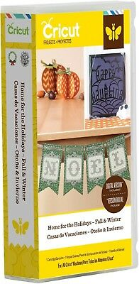 Cricut *home For The Holidays - Fall & Winter* Cartridge *brand New Sealed*