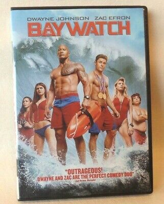 BAYWATCH, DVD, SINGLE DISC WITH CASE & COVER ARTWORK, g