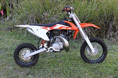 2016 Ktm Sx  2016 Ktm 50 Sx Youth Dirt Bike In Like New Condition