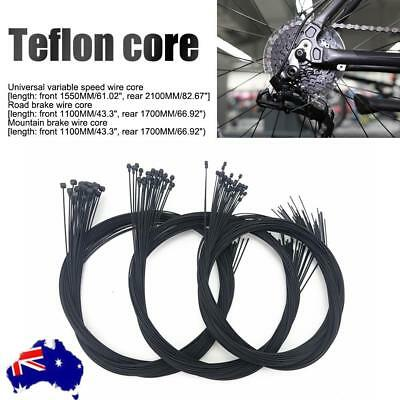 Road Bike MTB Gear Bicycle Brake Line Shifter Core Inner Cable Teflon Wire AU!