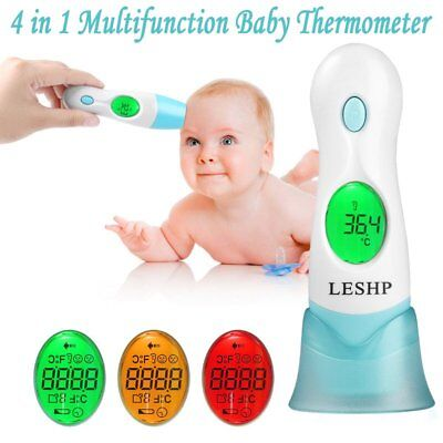 Infrared Thermometer Multi-Function LCD Display 4 In 1 Adult Baby Thermometer WI