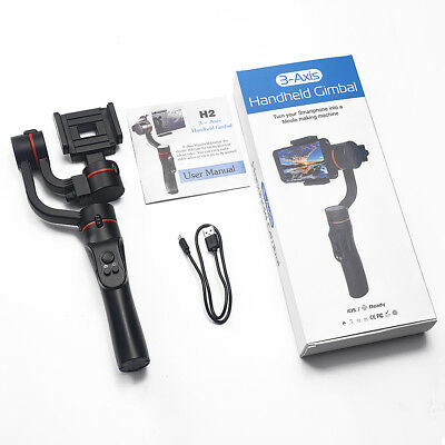 Universal 3-Axis Handheld Gimbal Stabilizer for Gopro Action Camera / Smartphone