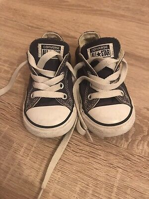 Baby Boy Girl Converse All Star Shoes Size 6 Euro 22