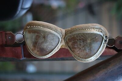 World War II WWII Japanese Military Fighte Pilot Goggles