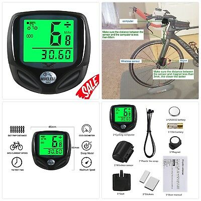 Wireless Bicycle Cycling Computer J4G2 YS Multi Functions Bike Computer Wired