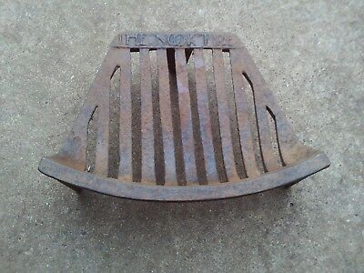 An Old Iron Fire Grate 12 Inch The Nook