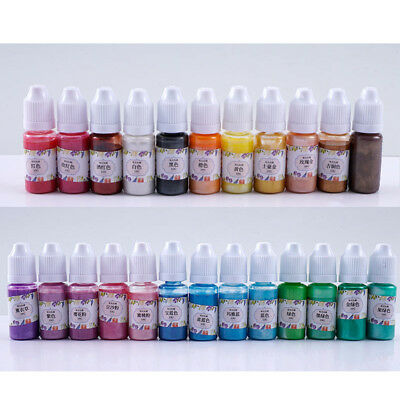 10G DIY UV Resin Ultraviolet Curing Liquid Pearl-luster Pigment Dye Art Crafts
