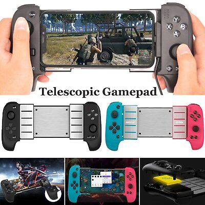 Wireless Bluetooth Gamepad Game Controller Telescopic Joystick for Android & IOS
