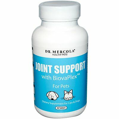 Dr. Mercola, Joint Support, with BiovaPlex, for Pets, 60 Tablets