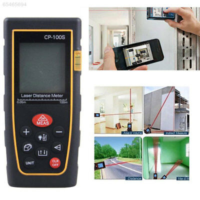6A18 CP-100S 100M Digital Handheld Laser Distance Measuring Meter Range Finder