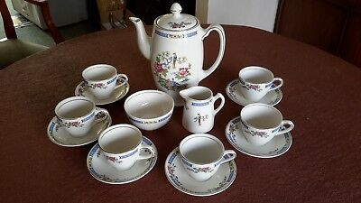 Lord Nelson Ware Tsing Coffee set
