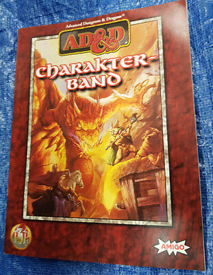 AD&D Advanced Dungeons & Dragons Charakterband - Paperback (1)