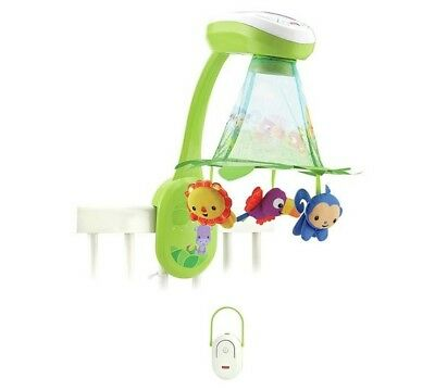 Fisher-Price Rainforest Grow-with-Me Projection Mobile - USED NO BOX