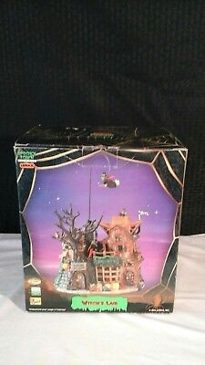 "Lemax Spooky Town Collection , 2004 Witch's Lair Animated,Lights,Sound ""MINT"""