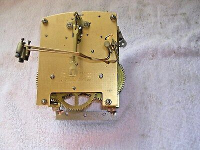 Clock  Parts , Clock Movement,smiths Enfield, 3 Hammers