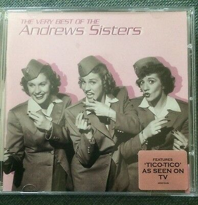The Very Best of the Andrews Sisters The Andrews Sisters CD Free Postage