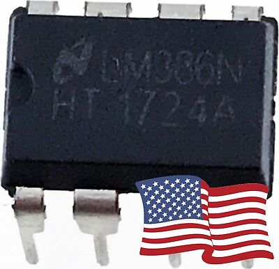 10pcs LM386 LM386N LM386L Low Voltage Audio Power Amplifier IC DIP-8 - USA