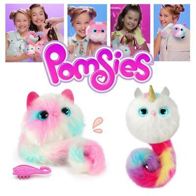 Pomsies Pet Patches Chat -Peluche Chat Licorne Poupée Jouets Avec Son Noël 2018