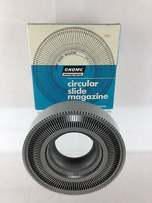 Gnome Circular Slide Magazine 122 35mm Slide Capacity