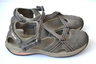 d0f8cece2abe1 Womens TEVA 1000271  Ewaso  Gray Sport Sandals Walking Hiking Shoes SIZE 9  EU 40