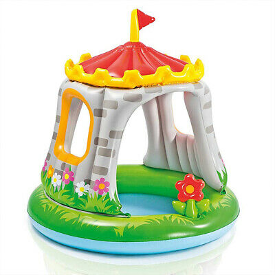 Piscina para Niños Hinchable Castillo y Flor Intex 57122