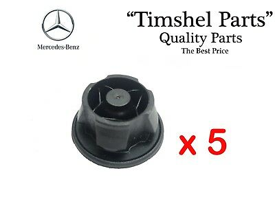 5X ENGINE COVER GOMMETS BUNG ABSORBERS Mercedes W204 W212 W461 X164 A6420940785