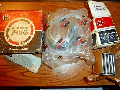 2 International Harvester IH Bearings NOS Boxed Collectible