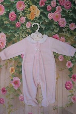 82425ad6c673 MINTINI BABY BOYS Girls Spanish Style Grey or Pink Velour Bows ...