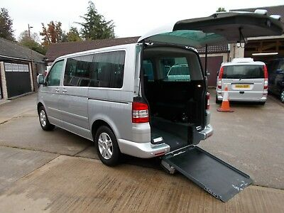 Wheelchair Accessible Wav Disabled 2007 Volkswagon Caravelle Exec Tdi 4 Seats