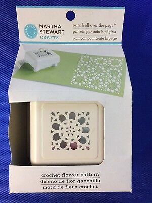 Martha Stewart Crafts Crochet Flower Pattern Punch All Over The Page