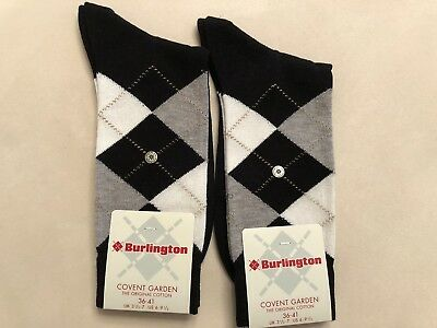 Burlington Damensocken 2 Paar NEU