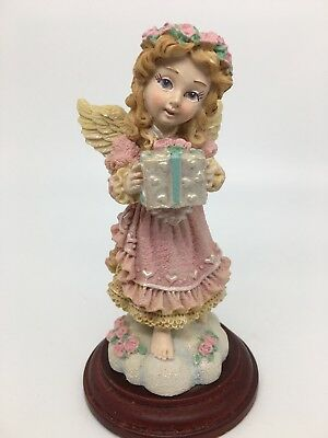 House Of Lloyd Christmas Around The World Barefoot Angel With Gift Present
