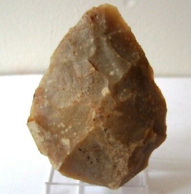 Palaeolithic Flint Hand Axe. Stone Age  Neanderthal Biface Hand Axe Mousterian
