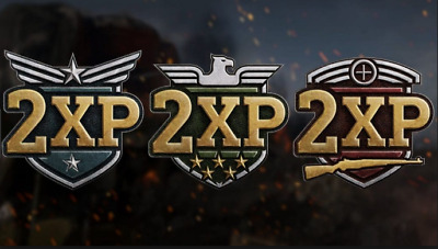 Call of Duty Black Ops 4 double xp 2 tokens