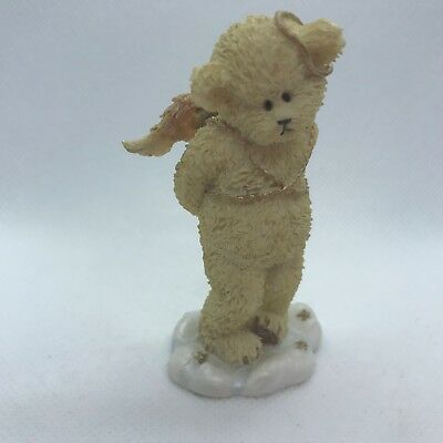 "Lil' Wings Bashful Boyd's Bears Style #24175 Teddy Bear Angel 3"" Tall No Box"