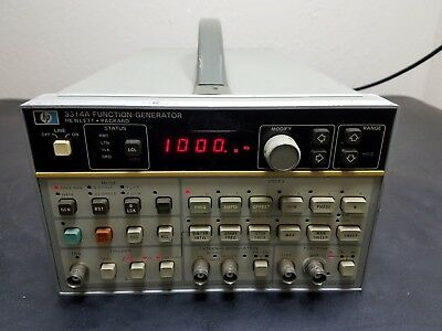 Hewlett Packard HP 3314A Function Generator