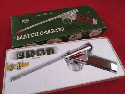 National Silver Company, Match o Matic Gas Match, in Box