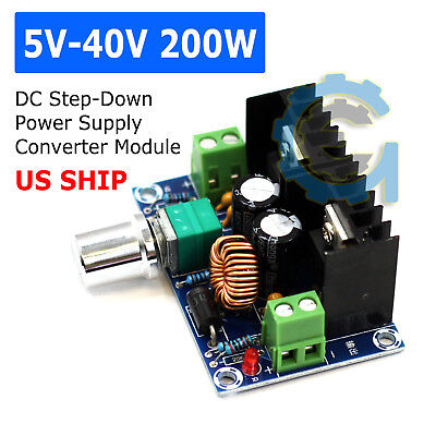 200W 8A DC-DC Adjustable Step Down Power Supply Module Voltage Current Converter