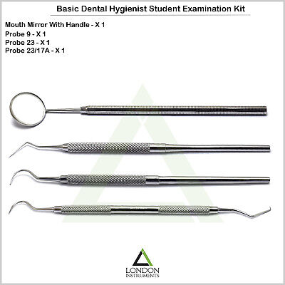 Dental Pick Teeth Inspection Tools Tartar Calculus Plaque Remover Laboratory CE