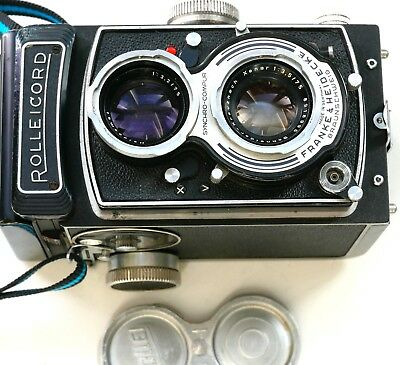 Rolleicord VB TLR camera with 75mm f3.5 Xenar