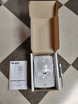 Algo 8180 IP Paging and SIP Loud Ringer Audio Alerter NEW
