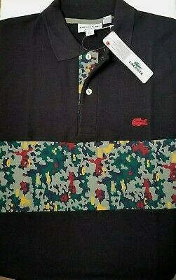 bb07e06b3 Lacoste Men s Shirt Size 5 US Medium Made in Peru Designed in France