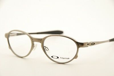 5321b2d7dc New Authentic Oakley Overlord OX5067-0151 Matte Silver 51mm Frames  Eyeglasses RX