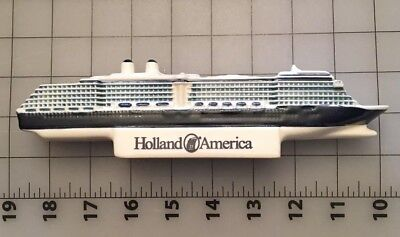 Holland America ms Oosterdam Cruise Ship Royal Goedewaagen Blue Delfts