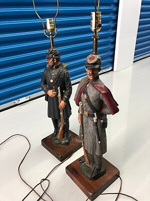 Civil War Soldiers Dunning Industries 1971 Lamps