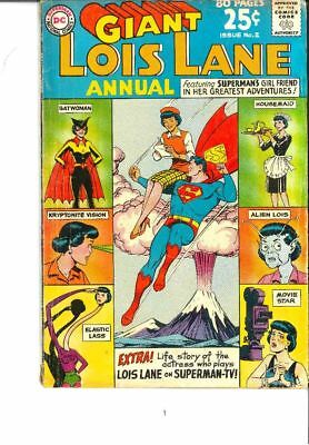 Lois Lane Annual 2 80 pages!  VG, Sept 1963 Issue