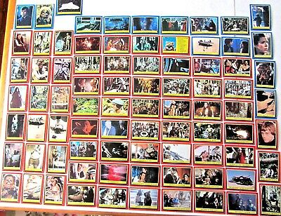 Vintage Star Wars 1983 Return Of The Jedi Series 1 & 2 Trading Card Singles Lot