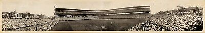 """1929 Chicago Cubs Wrigley Field 42"""" Vintage Panoramic Photograph Panorama"""