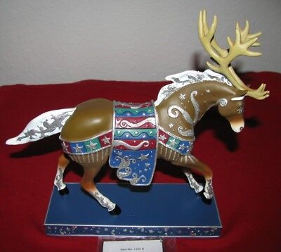 "The Trail Of Painted Pony "" Reindeer Roundup "" 1/e Nib! Retired! Christmas! Sale"