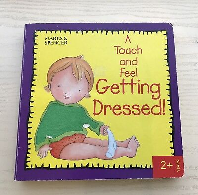 Young Children's Learning To Get Dressed Book Marks And Spencers Good Condition